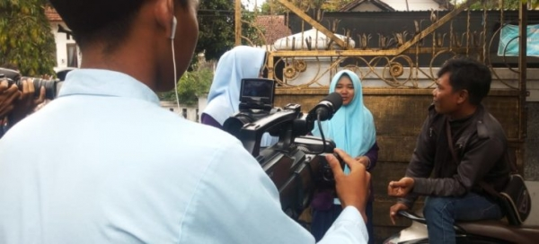Praktikum Videografi Oleh Siswa Multimedia