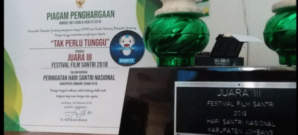 Juara 3 Festival Film Santri 2018